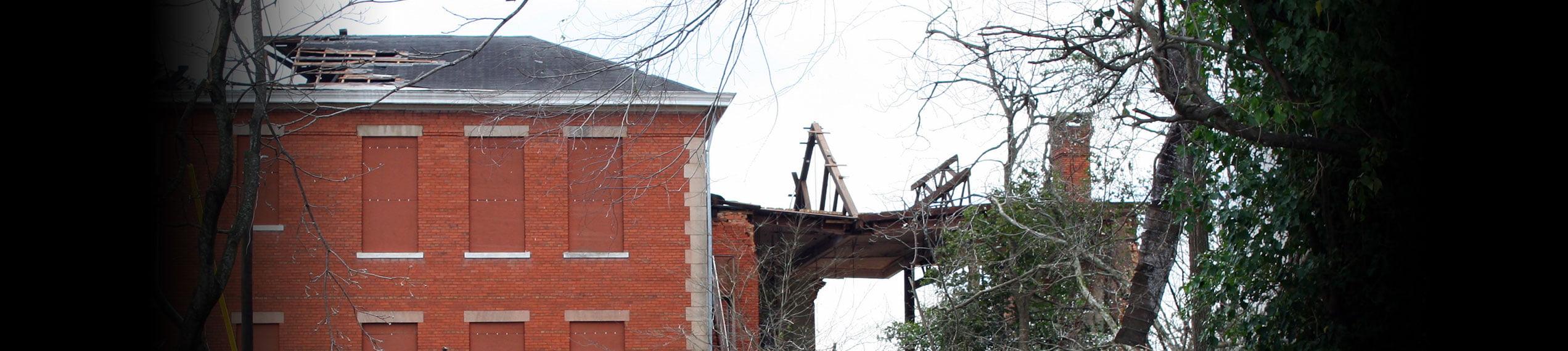 Wind & Storm Damage Repairs in Paul Davis Emergency Services of West Huntsville AL